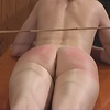 Painful caning punis